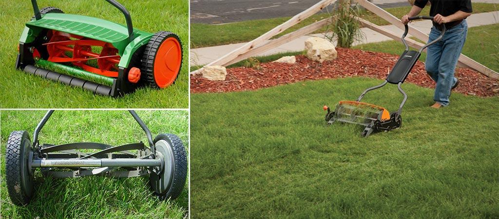 Reel Lawn Mower Overview - All Regarding Reel Lawnmowers